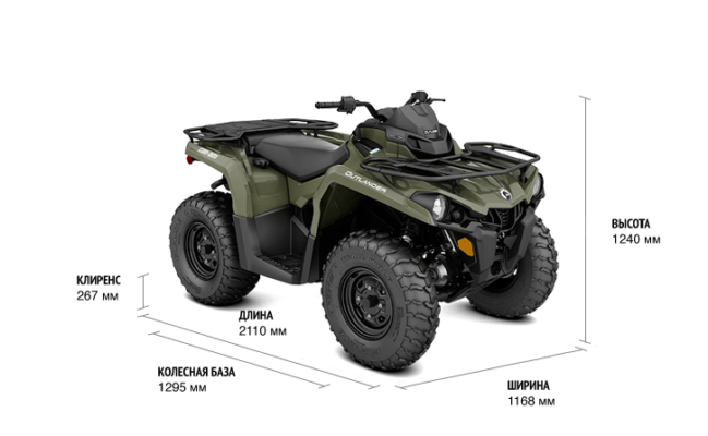 Квадроцикл BRP CAN-AM OUTLANDER OUTLANDER 450