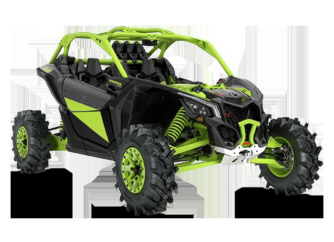 Квадроцикл/багги BRP Can-Am MAVERICK X MR TURBO RR 2020 модельного года