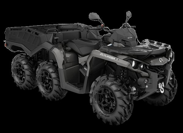 Квадроцикл BRP Can-Am OUTLANDER 6×6 1000 PRO+ 2020 модельного года