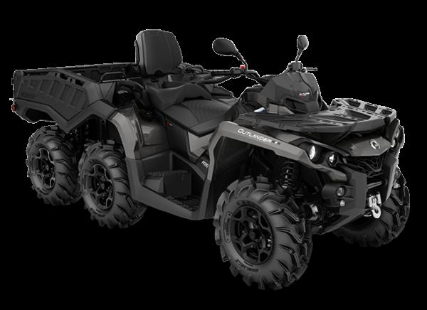 Квадроцикл BRP Can-Am OUTLANDER MAX 6×6 650 PRO+ 2020 модельного года