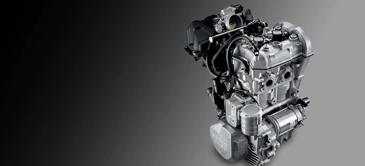 Двигатель Rotax 600 ACE для снегохода BRP Lynx 59 Yeti
