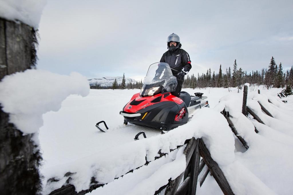 Снегоход BRP 59 yeti 600 ace