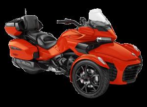 Туристические трициклы Can-Am F3 LTD
