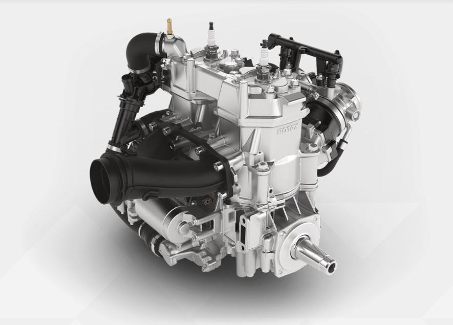 Совершенно новый двухтактный инжекторный двигатель BRP ROTAX 600 EFI