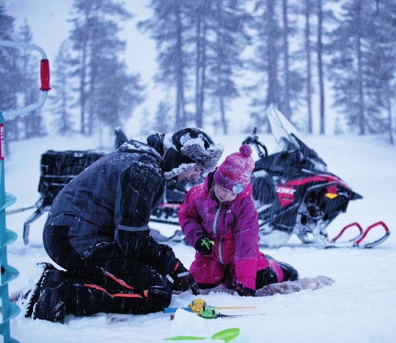 """Купить новый двухтактный снегоход BRP Lynx 59 Yeti 600 EFI в BRP Центр """"У Павла"""""""