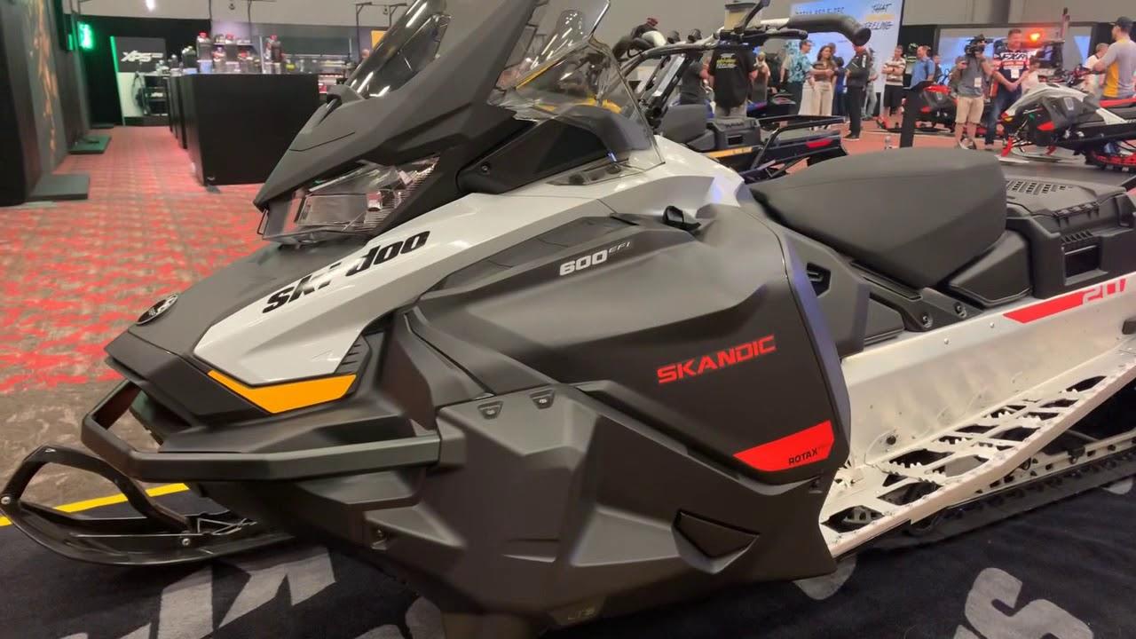 Утилитарный снегоход BRP Ski-Doo Skandic Sport 600 EFI 2021